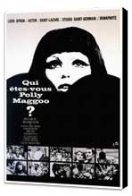 Who Are You, Polly Magoo? - 27 x 40 Movie Poster - French Style A - Museum Wrapped Canvas