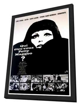 Who Are You, Polly Magoo? - 27 x 40 Movie Poster - French Style A - in Deluxe Wood Frame