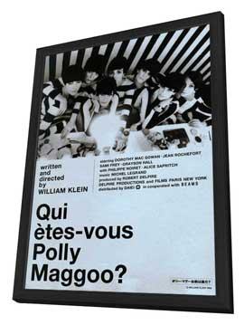 Who Are You, Polly Magoo? - 27 x 40 Movie Poster - French Style B - in Deluxe Wood Frame