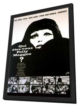 Who Are You, Polly Magoo? - 11 x 17 Movie Poster - French Style A - in Deluxe Wood Frame