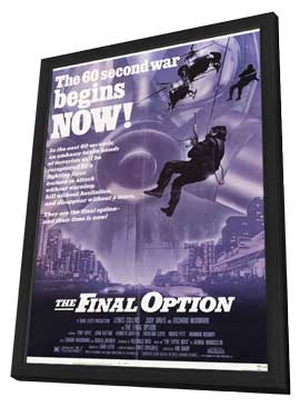 Who Dares Wins - 11 x 17 Movie Poster - Style A - in Deluxe Wood Frame