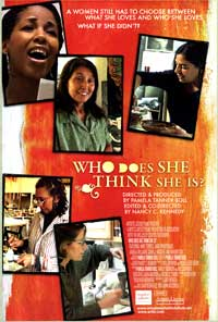Who Does She Think She Is? - 43 x 62 Movie Poster - Bus Shelter Style A