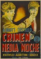 Who Done It? - 27 x 40 Movie Poster - Spanish Style A