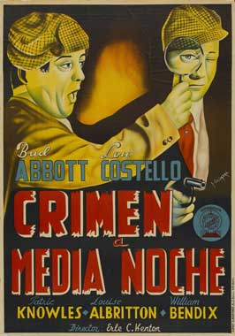 Who Done It? - 11 x 17 Movie Poster - Spanish Style A