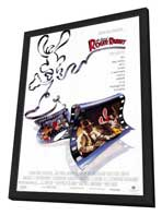 Who Framed Roger Rabbit - 27 x 40 Movie Poster - Style A - in Deluxe Wood Frame