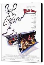 Who Framed Roger Rabbit - 27 x 40 Movie Poster - Style A - Museum Wrapped Canvas