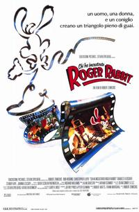 Who Framed Roger Rabbit - 11 x 17 Movie Poster - Italian Style A