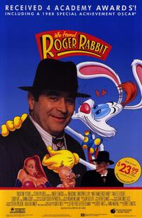 Who Framed Roger Rabbit - 11 x 17 Movie Poster - Style B