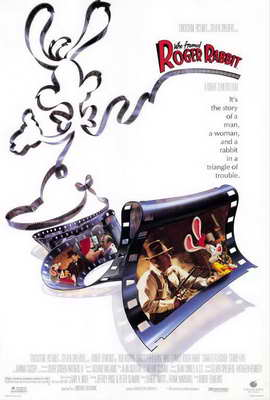 Who Framed Roger Rabbit - 27 x 40 Movie Poster - Style A