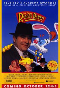 Who Framed Roger Rabbit - 27 x 40 Movie Poster - Style B