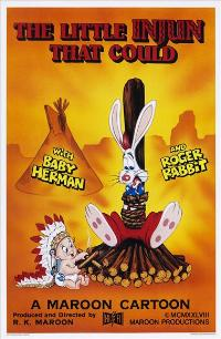 Who Framed Roger Rabbit - 27 x 40 Movie Poster - Style E