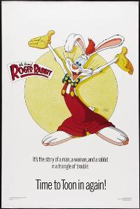 Who Framed Roger Rabbit - 27 x 40 Movie Poster - Style F
