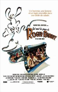 Who Framed Roger Rabbit - 11 x 17 Movie Poster - French Style A