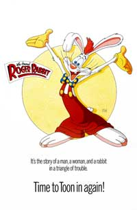 Who Framed Roger Rabbit - 27 x 40 Movie Poster - Style I