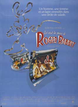 Who Framed Roger Rabbit - 27 x 40 Movie Poster - French Style B