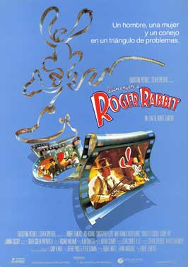 Who Framed Roger Rabbit - 11 x 17 Movie Poster - Spanish Style A