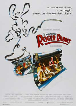 Who Framed Roger Rabbit - 27 x 40 Movie Poster - Italian Style A