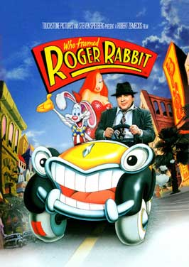 Who Framed Roger Rabbit - 43 x 62 Movie Poster - Bus Shelter Style C
