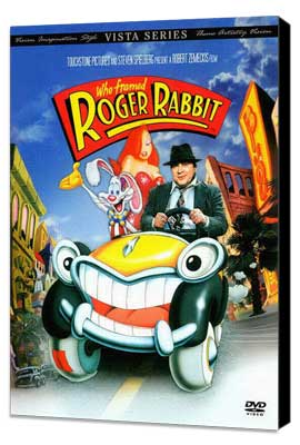 Who Framed Roger Rabbit - 27 x 40 Movie Poster - Style G - Museum Wrapped Canvas