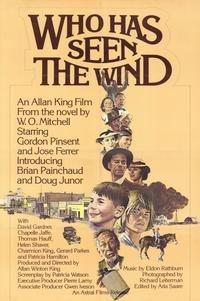 Who Has Seen the Wind? - 11 x 17 Movie Poster - Style A