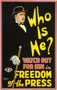 Who is He? - 11 x 17 Movie Poster - Style A