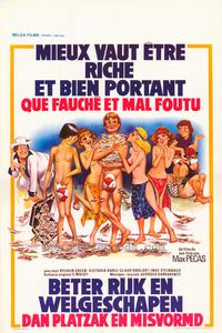 Who Is That Splashing in the Mediterranean? - 11 x 17 Movie Poster - Belgian Style A