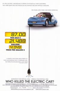 Who Killed the Electric Car? - 11 x 17 Movie Poster - Style A