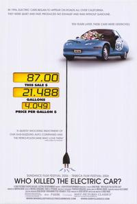 Who Killed the Electric Car? - 43 x 62 Movie Poster - Bus Shelter Style A