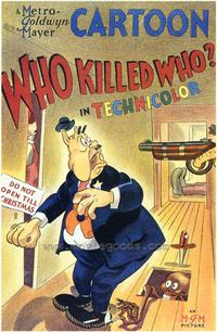 Who Killed Who? - 43 x 62 Movie Poster - Bus Shelter Style A