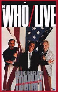 Who Live, Featuring the Rock Opera Tommy - 11 x 17 Movie Poster - Style A
