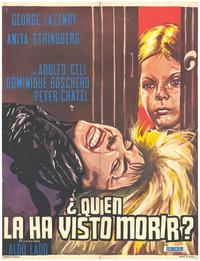 Who Saw Her Die? - 27 x 40 Movie Poster - Italian Style A