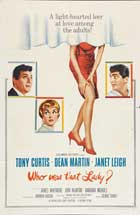 Who Was That Lady - 11 x 17 Movie Poster - Style B