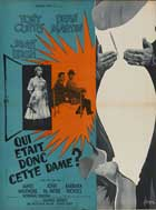 Who Was That Lady - 11 x 17 Movie Poster - French Style A