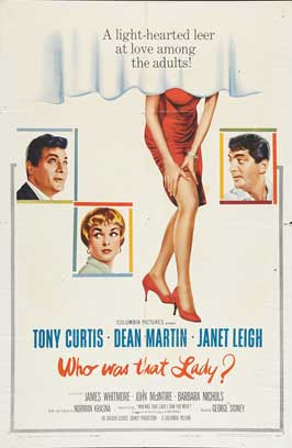 Who Was That Lady - 27 x 40 Movie Poster - Style B