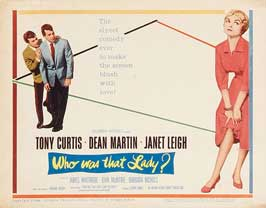 Who Was That Lady - 11 x 14 Movie Poster - Style A