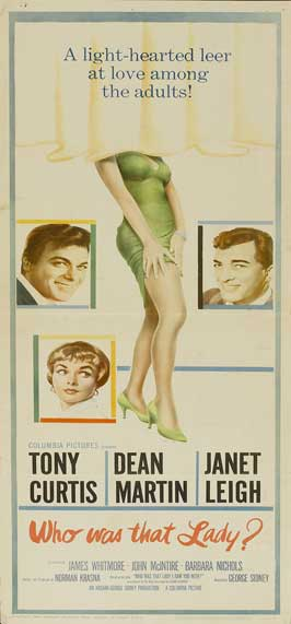 Who Was That Lady - 20 x 40 Movie Poster - Style A