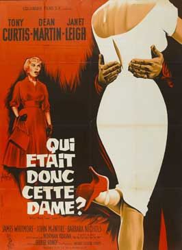 Who Was That Lady - 11 x 17 Movie Poster - French Style B