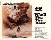 Who'll Stop the Rain? - 22 x 28 Movie Poster - Half Sheet Style A