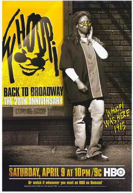 Whoopi: Back to Broadway - The 20th Anniversary - 27 x 40 Movie Poster - Style A