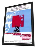 Who's Afraid of Virginia Woolf? - 11 x 17 Movie Poster - Style A - in Deluxe Wood Frame
