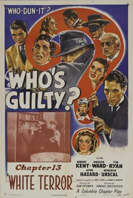 Who's Guilty? - 27 x 40 Movie Poster - Style B