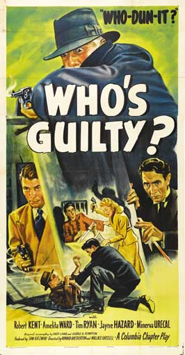 Who's Guilty? - 11 x 17 Movie Poster - Style C