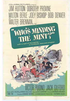 Who's Minding the Mint? - 11 x 17 Movie Poster - Style A