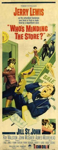 Who's Minding the Store? - 14 x 36 Movie Poster - Insert Style A