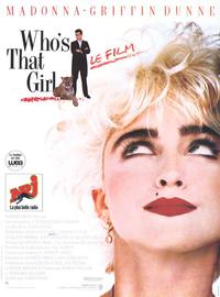 Who's That Girl? - 11 x 17 Movie Poster - French Style A