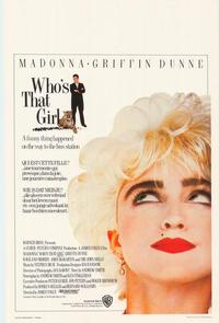 Who's That Girl? - 11 x 17 Movie Poster - Belgian Style A