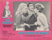 Why Bother to Knock - 11 x 14 Movie Poster - Style C