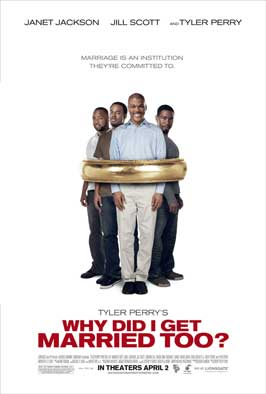 Why Did I Get Married Too - 11 x 17 Movie Poster - Style E