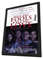 Why Do Fools Fall in Love? - 11 x 17 Movie Poster - Style A - in Deluxe Wood Frame