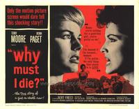 Why Must I Die - 22 x 28 Movie Poster - Half Sheet Style A